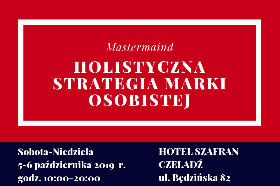 MASTERMIND - HOLISTYCZNA STRATEGIA MARKI OSOBSITEJ