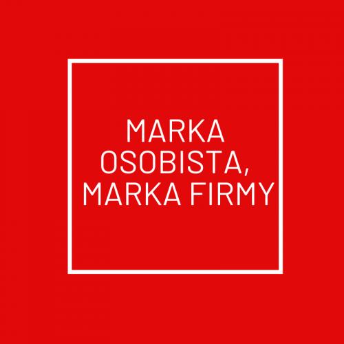 MARKA OSOBISTA, MARKA FIRMY
