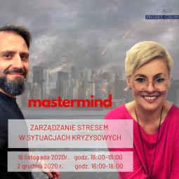 Mastermind ZARZĄDZANIE STRESEM – 16:00-19:00